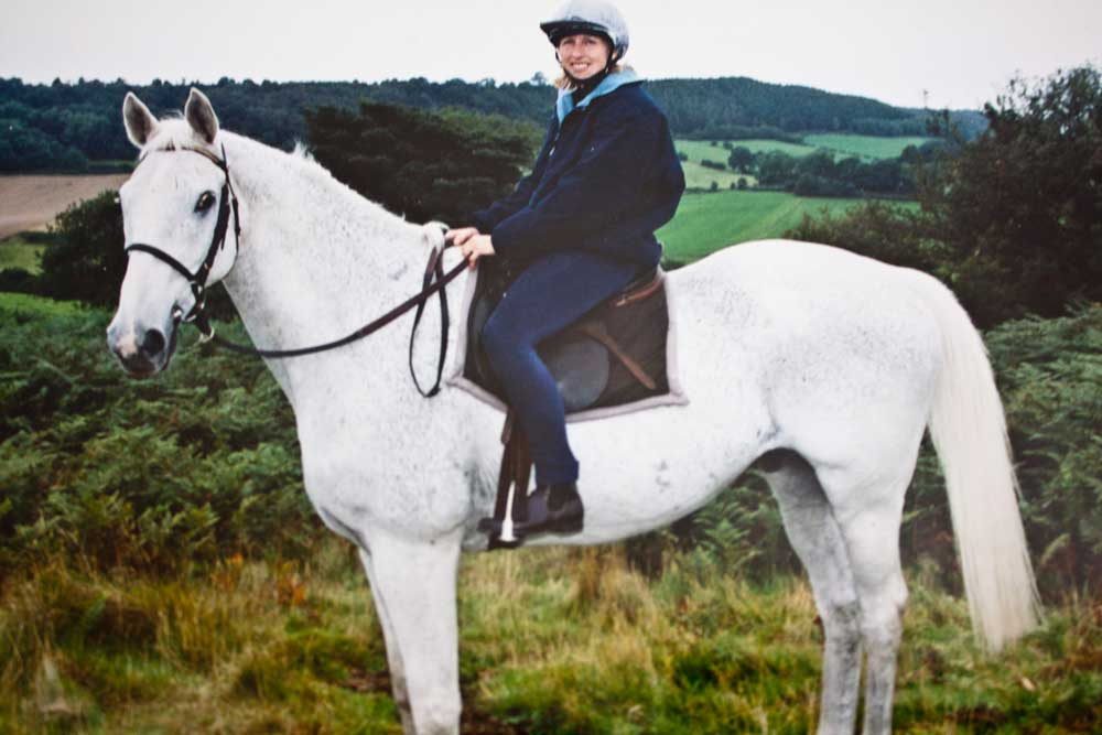 Sue and Desert Orchid. Horses are most welcome! We can provide stabling and / or grazing to suit your needs.